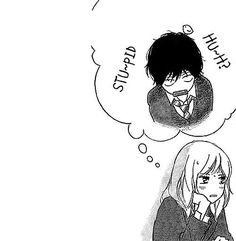 anime, ao haru ride, and manga image Manga Anime, Sad Anime, Manga Boy, Manga Cute, Cute Anime Pics, Anime Ao Haru Ride, Tanaka Kou, Futaba Y Kou, Blue Springs Ride