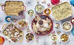 Christmas Feast Christmas 2015, Christmas Wishes, Tapas Recipes, Grazing Tables, Food Festival, Antipasto, Charcuterie, Acai Bowl, Plates