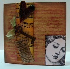 Musical Imagination by BlueRoomInk on Etsy, $20.00
