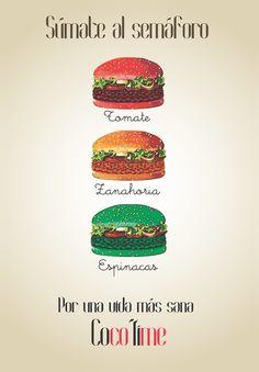 Esto si que es un buen semáforo!!!! anuncio culinario de nuestra alumna Macarena Moreno Berjas