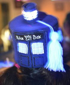 My tardis fez.   And yes it lights up!