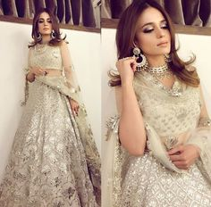 Pakistani Engagement Dresses For Brides In 2020 Pakistani Engagement Dresses, Indian Wedding Outfits, Pakistani Outfits, Indian Outfits, Engagement Lehnga, Indian Clothes, Pakistani Bridal, Bridal Lehenga, Indian Bridal
