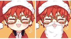 Seven as Santa
