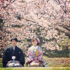 花嫁さんを引き立てるスタンダードな袴☆ 参考にしたい男性の袴