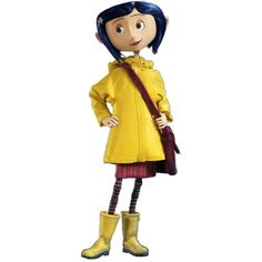 Coraline costume via Polyvore featuring costumes and yellow costumes