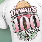 A Bakersfield Classic -ice cream, candies, and Dewar's chews!!