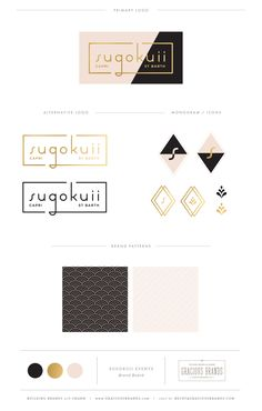 Brand Design by Gracious Brands / www.graciousbrands.com / for Sugokuii events in Capri + St. Barth