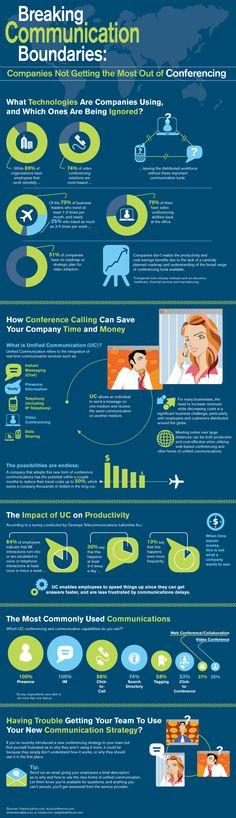 Complementa tus reuniones presenciales por virtuales, mejorarás la productividad #infografia #infographic