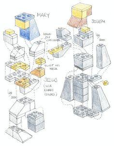Make Your Own LEGO Nativity Scene — University of Amsterdam Science Staff