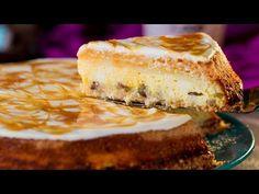 Prajitura regala cu branza - trebuie încercată măcar o dată în viață!   SavurosTV - YouTube Relleno, Cheesecakes, Hamburger, Sweets, Snacks, Ethnic Recipes, Tube, Keto, Cow Cheese
