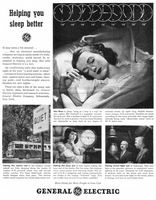 GE Automatic Blanket 1945 Ad Picture