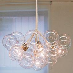 Diy bubble chandelier chandeliers lights and interiors jumbo bubble chandelier aloadofball Image collections