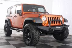 """Jeep Wrangler with 35"""""""" tires 