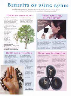 Mind, Body, Spirit Collection - Benefits Of Using Runes Norse Runes, Viking Runes, Norse Mythology, Ouija, Stargate, Rune Symbols, Celtic Symbols, Wicca Witchcraft, Magick Spells