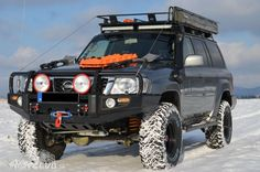 Nissan patrol It's just the Pathfinder's big brother over seas