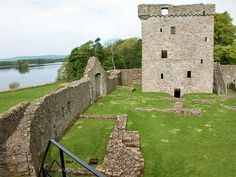 Lochleven Castle is on a remote Scottish Island. Mary Stewart, Queen of Scots was confined here for 10 months. Escaped with help from the Jailer's family.