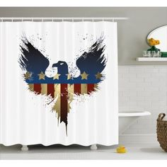The Meaning of the Red, White and Blue Colors of the American Flag Bathroom Shelves, Bathroom Sets, Aesthetic Value, Majestic Animals, Bathroom Accessories, Country Bathrooms, American Flag, Hooks, Eagle