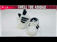 Crochet Adidas Baby Sneakers - YouTube