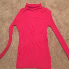 Selling this Nic+Zoe Lightweight pink ribbed turtleneck. SZ S in my Poshmark closet! My username is: lori3015. #shopmycloset #poshmark #fashion #shopping #style #forsale #NIC + ZOE #Sweaters