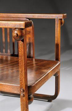 История мебели - величайшие мастера Мебель: Иосиф Гофман