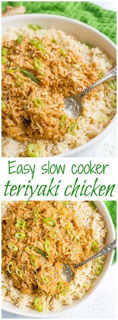 Slow cooker teriyaki