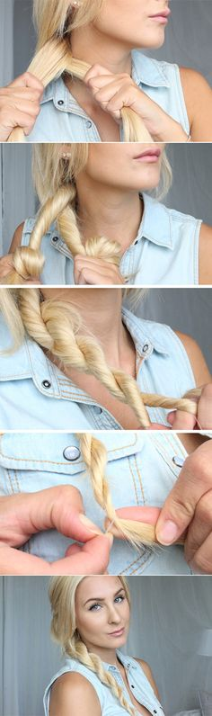 twisted-side-braid-lazy-girl-hair-style-hacks