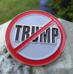 Not My President  Pin Free Shipping Impeach by BrittsEmporium