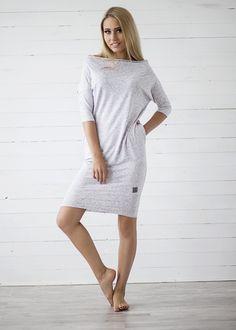 SUKIENKA NEXT - biały pieprz - Sukienki i tuniki - ONA - Sklep - Lillow 129zł