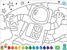 2021: Camp Khan Kids: Science & Space Week – Khan Academy Science Space, Science For Kids, Coloring For Kids, Coloring Pages, Chemistry Set, Kids Library, Little Learners, Circle Time, Space Travel