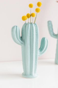 The Aqua Stoneware Cactus Small Vase is a matte sage finished vase that is in the shape of a cactus, making this a great addition to your home! Cactus Ceramic, Cactus Pot, Oak Street, Cactus Decor, Color Stories, Unique Home Decor, Clay Art, Ceramic Pottery, Stoneware