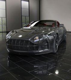 Cool as f**k Carbon Fiber Aston Martin DBS via carhoots.com