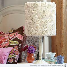 15 Girly DIY Lamp Shade Designs | Home Design Lover