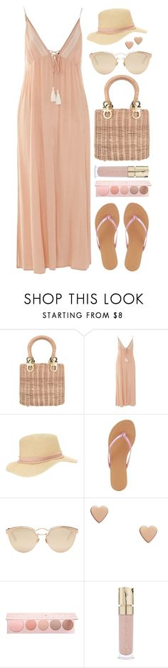 """Touch of pink"" by sunx2 ❤ liked on Polyvore featuring Topshop, Miss Selfridge, Charlotte Russe, Christian Dior, 100% Pure, Smith & Cult and basketbags"