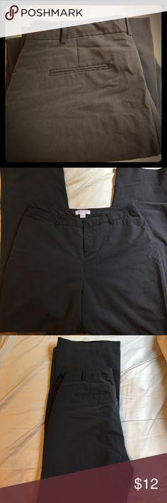 Cold water Creek Dress Pants EUC. Black Coldwater Creek dress pants. Natural fit. 31in inseam. 9 1/2in front rise. Coldwater Creek Pants Trousers