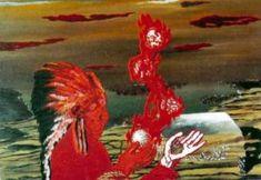 Rene Magritte. 1927 Het vuurtijdperk / L'Age du feu .