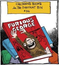 Children's books in the discount bin!