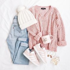 School outfit ideas for the daily look - just trendy girls . - nature - fashion - travel passion - handicraft - School outfit ideas for the daily look – Just Trendy Girls – - Teen Fashion Outfits, Girly Outfits, Mode Outfits, Style Fashion, Womens Fashion, Trendy Teen Fashion, Fashion Ideas, Woman Outfits, Big Fashion