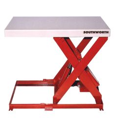 Industrial grade hydraulic lift tables with lower weight capacities to handle lighter loads up to 1500 lbs. Vinyl Skirting, Braided Hose, Lift Table, Homemade Tools, Totes, Delivery, Platform, Easy, Wedge