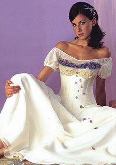 Vestido blanco para quinceañera - Fifteen white dress