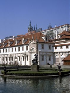 The Valdstejn Garden and Palace - Mala Strana, Prague, Czech Republic. -lbk-