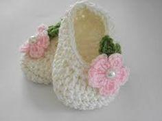 zapatitos crochet para bebe paso a paso - Buscar con Google