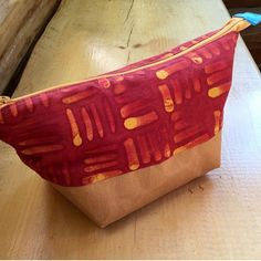 Awesome Noodlehead #wideopenpouch made using #krafttex. Thanks @chickadee6709 for sharing!
