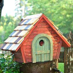 Heartwood Prairie Home Bird House, Redwood at BestNest.com