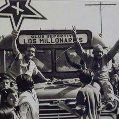VAMOS, VAMOS MILLONARIOS Ballet, Buses, Grande, Movies, Movie Posters, Bogota Colombia, Football Team, Antique Photos, White People