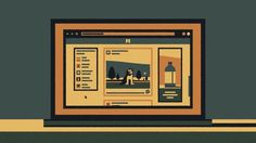 An animated short about the prefabrication of social media.   See more at http://www.peterhenderson.co.uk/   Illustration / Animation / Sound - Peter Henderson Music - Heno