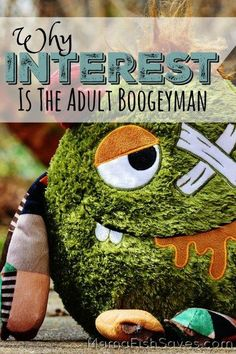 Why debt interest is destroying your life like the adult boogeyman it really is!