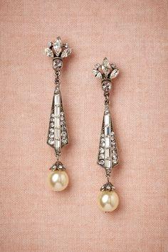 BHLDN Spire Earrings in  Bride | BHLDN