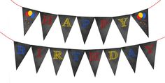 free printable boys happy birthday banner red white and blue | Happy-Birthday-Chalkboard-Bunting-Banner-Red-Blue-Yellow.jpg