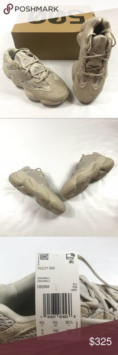 bd062c5590ef5 NEW Adidas Yeezy 500 Blush Brand new in box kanye west yeezy 500 blush  sneakers. Purchased from the adidas website.