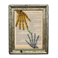 Touch of Life Anatomical Collage Original Print on by AvantPrint, $7.00